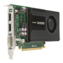Graphics card HP Nvidia Quadro K2000 Graphics, 2GB GDDR5  713380-001/ DEL1008180