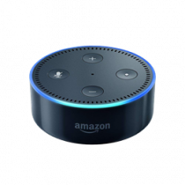 Laisvų rankų įranga valdoma balsu Echo Dot (2nd Gen), US version, Alexa, IFTTT Amazon black / DEL1009624