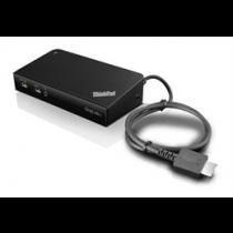 Lenovo ThinkPad OneLink + Dock, USB-A 3.1 Gen 1 Jungčių stotelė Lenovo juodas / DEL1009950