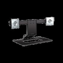 """""""HP Dual-Monitor"""" reguliuojamas stovas, iki 24 """", kilnojamas, pasukamas HP juodas / DEL2000323"""