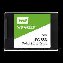 """SSD atmintis WESTERN DI 240GB, 2.5"""", 3D NAND, juoda / WDS240G2G0A / DEL2003141"""