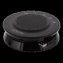 Konferencinis garsiakalbis DELTACO OFFICE su USB ir 3.5 mm audio portu, VoIP / Skype for business, juodas / DELC-0001