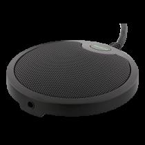 "DELTACO mikrofonas ofisams su USB ir 3,5 mm garso prievadu, ""VoIP"" / ""Skype"", juodas / DELC-0002"