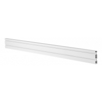 DELTACO OFFICE Aliuminio šiferio plokštė, skirta stalui, 110 cm, balta DELO-0151