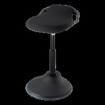 DELTACO OFFICE Kėdė reguliuojamo aukščio , 360 apsisukimas;, juoda / DELO-0303