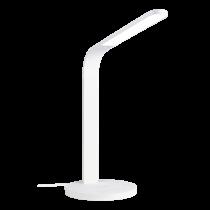 DELTACO OFFICE LED Stalinė lempa su bevieliu krovikliu, laikmačio funkcija, 400lm balta / DELO-0401