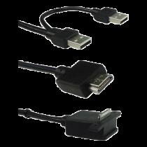 Kabelis GECHIC OP-1503-001, 1.2m, black / DOCKING-1503CABLE