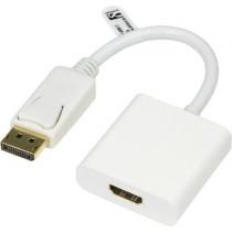 Adapteris DELTACO 0.2m, baltas / DP-HDMI12
