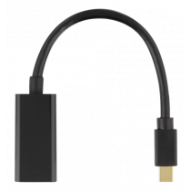 Adapteris DELTACO DP to HDMI, 3840x2160 at 60Hz, 0.2m, juodas / DP-HDMI45