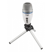 Mikrofonas YOGA USB, 50Hz-18kHz, baltas / EM-310U