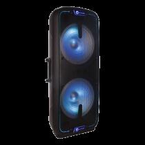 """N-GEAR FLASH 3010 nešiojama muzikos sistema, 800 W, """"Powerbank"""" funkcija, juoda / RGB / FLASH-3010"""