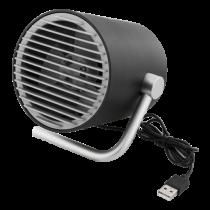 USB ventiliatorius DELTACO dviejų greičių, 1m USB kabelis  / FT-740