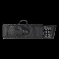 DELTACO GAMING LAN krepšys klaviatūrai ir pelei,  juodas GAM-041