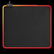 Pelės kilimėlis DELTACO GAMING 6xRGB režimai, 7xstatiniai režimai, 450x400x4mm , juodas / GAM-078