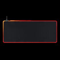 Pelės kilimėlis DELTACO GAMING 6xRGB režimai, 7xstatiniai režimai, 900x360x4mm, juodas / GAM-079