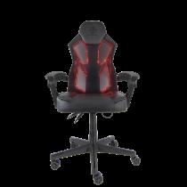 Žaidimų kėdė DELTACO GAMING su RGB šviesomis, PU, juoda / GAM-086