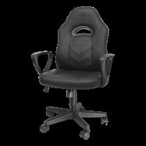 DELTACO GAMING vaikiška kėdė, 100mm dujinis keltuvas, PU oda, reguliuojamo aukščio 39-48cm  GAM-094