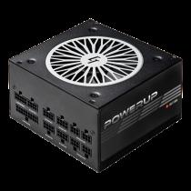Chieftec PowerUp series 550 W PSU, 80+ gold, ATX 12V ver 2.53, maitinimo šaltinis, juodas / GPX-550FC