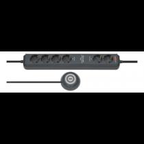 Brennenstuhl Eco-Line prailgintuvas / kojinis jungtukas 6 x CEE 7/4, 1xCEE 7/7, 1.5m, antracito1159560516 / GT-359