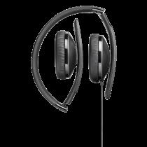 Ausinės Sennheiser HD 2.20, ant ausų, su mikrofonu, juodos / HD-220S