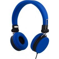 Ausinės STREETZ ant ausų, sulenkiamos, su mikrofonu, mėlynos / HL-222