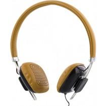 Ausinės STREETZ, ant ausų, su mikrofonu, rudos/juodos / HL-260