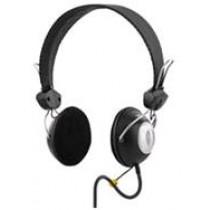 Ausinės DELTACO su mikrofonu, juodos / HL-30