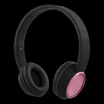 Ausinės STREETZ HL-344  Bluetooth, juodos/rožinės