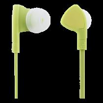 Ausinės 1- mygtuko nuotolinis valdymas, 3.5mm, mikrofonas STREETZ žalia / HL-355