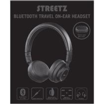 Ausinės STREETZ bluetooth, juodos / HL-430