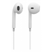Ausinės STREETZ Bluetooth 5.0 , 3 val. veikimas, balta / HL-595