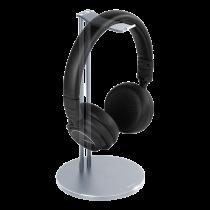DELTACO universalus ausinių stovas, aliuminis, sidabrinis HLS-101