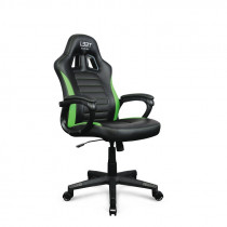 The Encore gaming chair L33T green PU / 160438