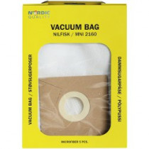 Dulkių maišeliai Nordic Quality MNI2160 GRUNDIG 5vnt / 358145