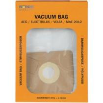 Dulkių maišeliai Nordic Quality MAE2012 AEG 5vnt + 2 filtrai / 358504