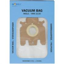Dulkių maišeliai Nordic Quality MMI2130 Miele 5vnt + 2 filtrai / 358505