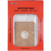 Dulkių maišeliai Nordic Quality MSI2220 Bosch 5vnt + 2 filtrai / 358506