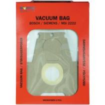 Dulkių maišeliai Nordic Quality MSI2222 Bosch 5vnt / 358510