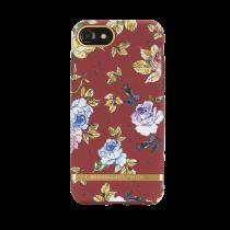 Dėkliukas Richmond tinkamas iPhone 6/6s/7/8, raudonas, gėlėtas / IP678-202