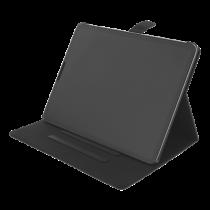 """DELTACO """"iPad Air 4th gen"""" 10,9 colių dėklas, veganiškos odos, juodas IPD-2020-2"""