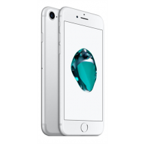 "Apple iPhone 7, 4G LTE Advanced - 128GB - GSM - 4.7 ""- 1334x750 (326ppi) - Retina HD - 12MP (7MP Front Camera) - Silver  / MN932QN/A"