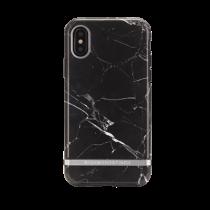 Marmurinis dėklas, sidabro detalės, iPhone X / XS Richmond IPX-064