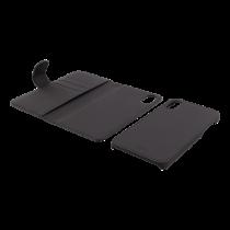 Dėklas Deltaco 2-in-1, tinkamas iPhone X, juodas / IPX-114