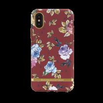 Dėkliukas Richmond tinkamas iPhone X, raudonas, gėlėtas / IPX-202