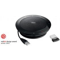 Jabra SPEAK™ 510 + MS garsiakalbis UC & BT, USB 2.0, Bluetooth 3.0, iki 15 valandų budėjimo trukmė, valdymas balsu / JABRA-278 / 7510-309