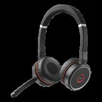 Jabra Evolve 75, Bluetooth Ausinės/ Avaya / Cisco, Black JABRA-325 /100-98510000-99