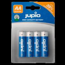 Baterijos JUPIO AA / LR6, 1.5V, neįkraunamos, 4 vnt. (JBA-AA4) / JUPIO10221