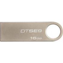 """DT 16GB USB 2.0 atmintis """"DataTraveler SE9"""" (šampaninė spalva) KINGSTON / KING-0736"""