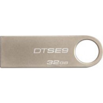 "DT Kingston 32GB USB 2.0 ""DataTraveler SE9"" (metalo korpusas), šampano spalvos / KING-0982"