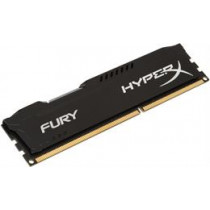 Kingston HyperX Fury Black , DIMM, DDR3, 8GB, 1600MHz, CL10, 1.5V  Kingston / KING-1351